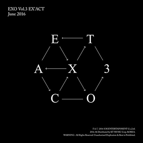 EXO - EX'ACT (3RD ALBUM) CHINESE VER.