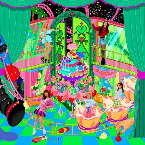 RED VELVET - THE REVE FESTIVAL FINAL (REPACKAGE ALBUM) SCRAPBOOK VER