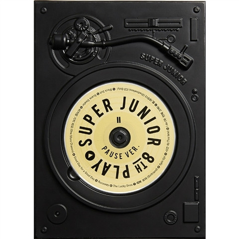 SUPER JUNIOR - PLAY (8TH ALBUM) PAUSE VER.