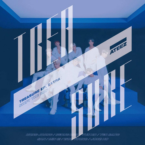 ATEEZ - TREASURE EP. EXTRA: SHIFT THE MAP (CD+DVD / Type A)