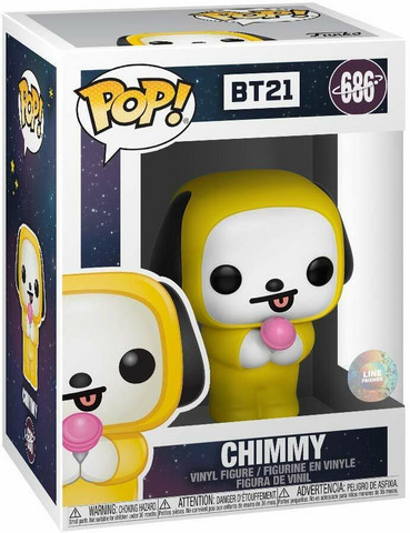 BT21 - FUNKO POP! ANIMATION - CHIMMY