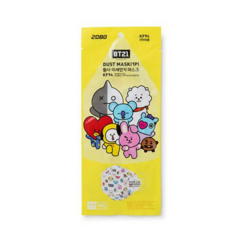 BT21 - DUST MASK - MEDIUM