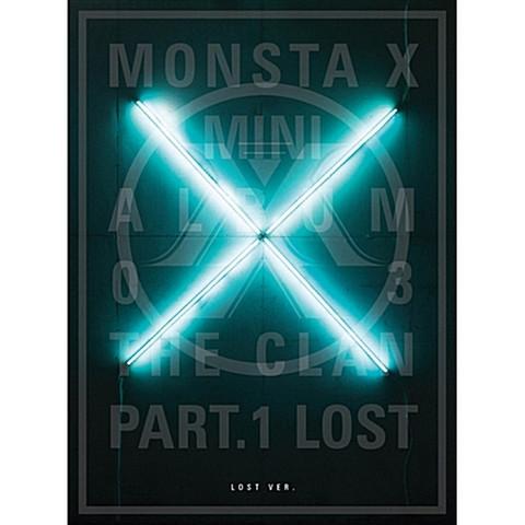 MONSTA X - THE CLAN 2.5 PART.1 LOST (3RD MINI ALBUM)  LOST Ver.