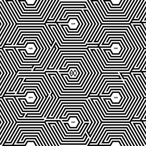 EXO-M - OVERDOSE (2ND MINI ALBUM)