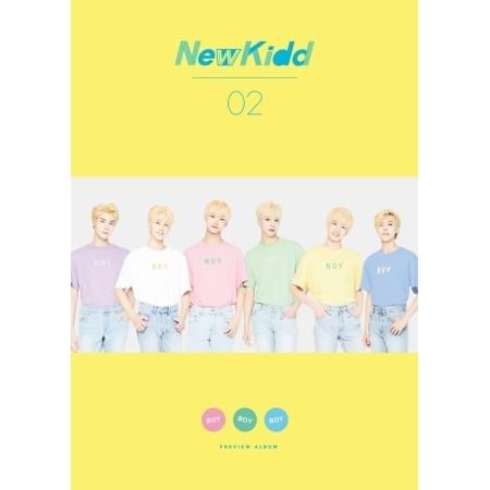 NEWKIDD02 - BOY BOY BOY (SINGLE ALBUM)