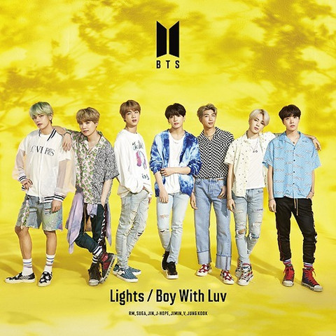 BTS - LIGHTS/BOY WITH LUV (W/ DVD / LIMITED EDITION / TYPE A)