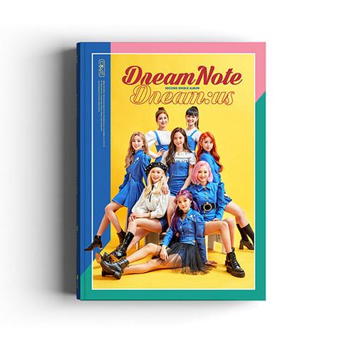 DREAMNOTE - DREAM:US (2ND SINGLE ALBUM)