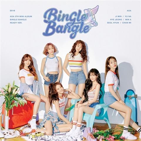 AOA - BINGLE BANGLE (5TH MINI ALBUM) READY VER.