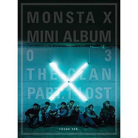 MONSTA X - THE CLAN 2.5 PART.1 LOST (3RD MINI ALBUM) FOUND Ver.