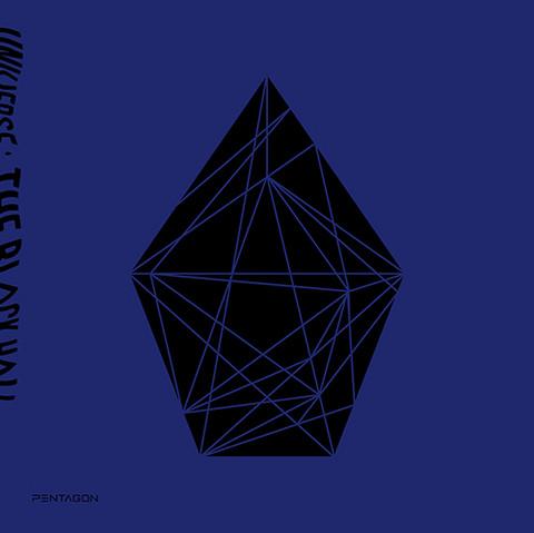 PENTAGON - UNIVERSE : THE BLACK HALL (1ST ALBUM) DOWNSIDE Ver.