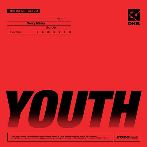 DKB - YOUTH (1ST MINI ALBUM)