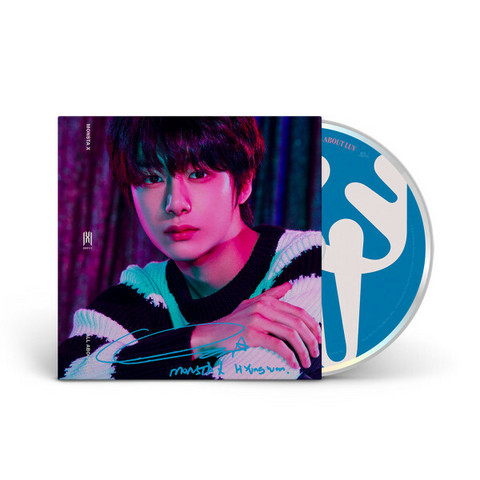 MONSTA X - ALL ABOUT LUV (STANDARD CASEMADE BOOK) HYUNGWON