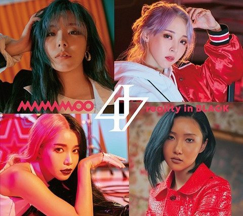 MAMAMOO - REALITY IN BLACK (JPN EDITION W/ DVD + BOOKLET, LIMITED EDITION / TYPE B)