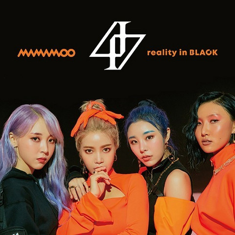 MAMAMOO - REALITY IN BLACK (JPN EDITION W/ DVD, LIMITED / TYPE A)