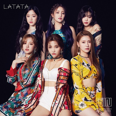 (G)I-DLE - LATATA (W/ DVD, LIMITED EDITION / TYPE A)