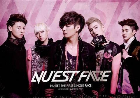 NU'EST - FACE (1ST SINGLE ALBUM)