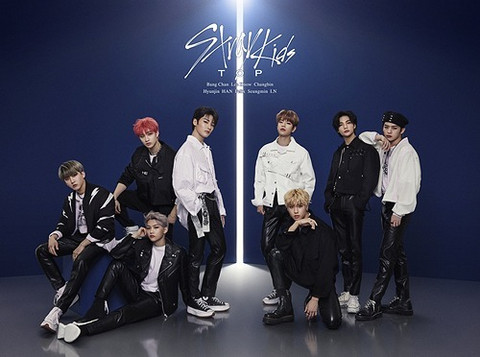STRAY KIDS - TOP (LIMITED EDITION / TYPE A) CD + DVD + 24P PHOTOBOOK