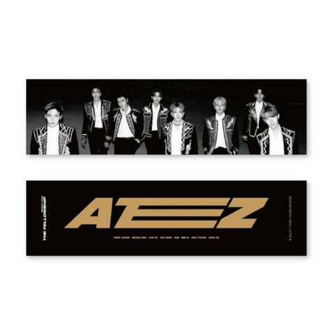 ATEEZ - WORLD TOUR THE FELLOWSHIP: MAP THE TREASURE - SLOGAN