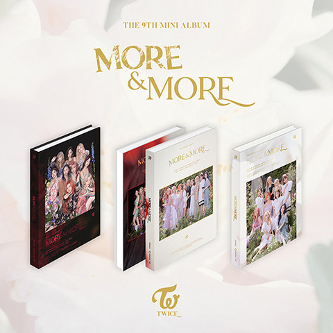 TWICE - MORE & MORE (9TH MINI ALBUM)