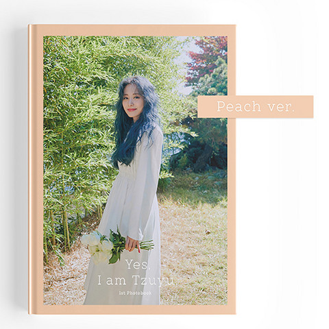 TZUYU - YES, I AM TZUYU (1ST PHOTOBOOK) PEACH VER
