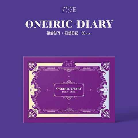 IZ*ONE - ONEIRIC DIARY (3RD MINI ALBUM) 3D VER.