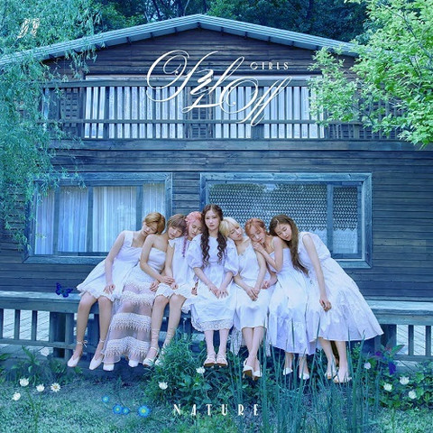 NATURE - NATURE WORLD CODE: M (3RD SINGLE ALBUM)