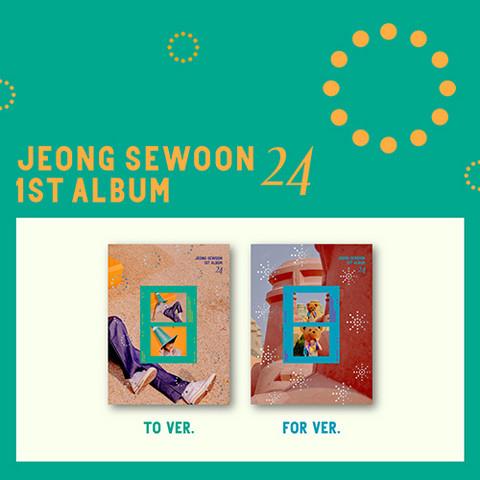 JEONG SE WOON - 24 PART 01 (1ST ALBUM)