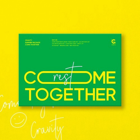CRAVITY - COME TOGETHER (SUMMER PHOTOBOOK) REST VER
