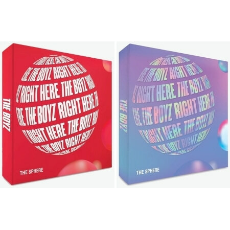 THE BOYZ - THE SPHERE (1ST SINGLE ALBUM)