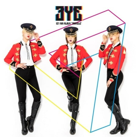 3YE - TRIANGLE (1ST MINI ALBUM)