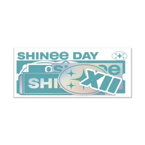 SHINEE - LUGGAGE STICKER / DEBUT 12TH ANNIVERSARY
