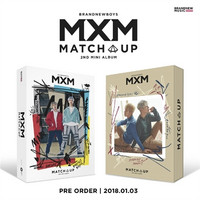 MXM (BRANDNEWBOYS) - MATCH UP (2ND MINI ALBUM)