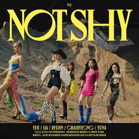 ITZY - NOT SHY (3RD MINI ALBUM)