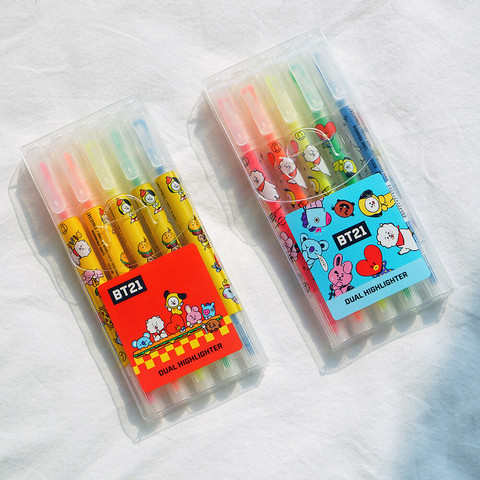 BT21 - DUAL HIGHLIGHTER SET