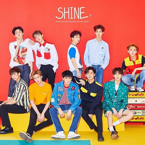 PENTAGON - SHINE (REGULAR EDITION)