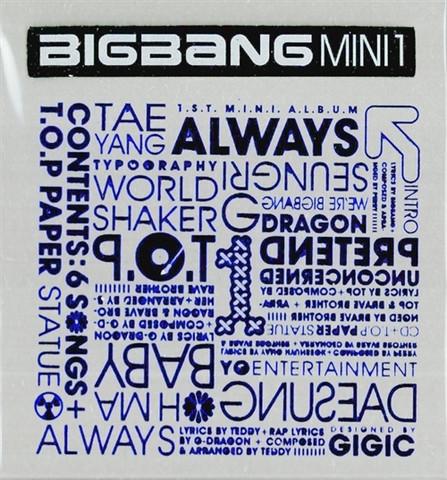 BIGBANG - ALWAYS (1ST MINI ALBUM)
