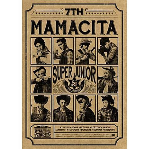 SUPER JUNIOR - MAMACITA (7TH ALBUM) B VER.