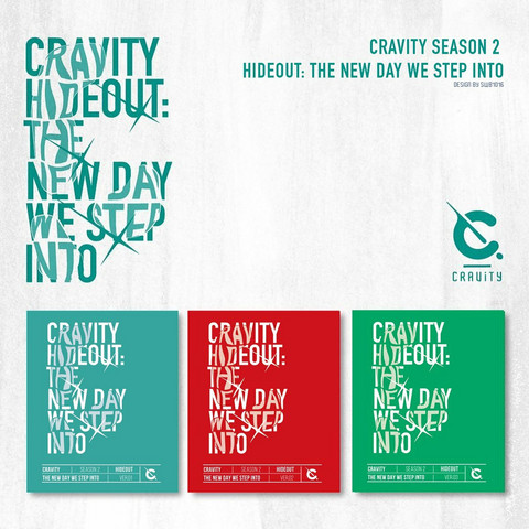 CRAVITY - SEASON 2 HIDEOUT: THE NEW DAY WE STEP INTO (ALBUM)
