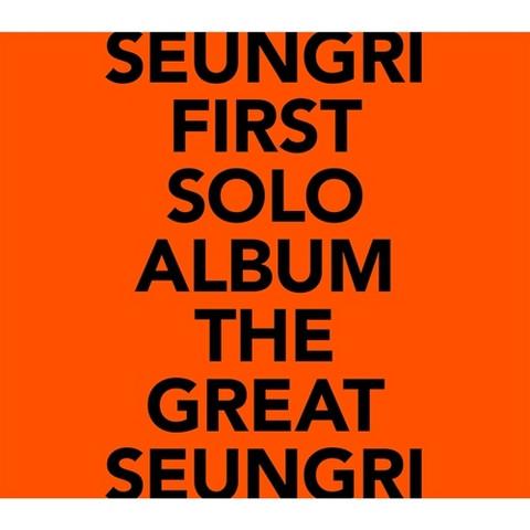 SEUNGRI - THE GREAT SEUNGRI (1ST SOLO ALBUM)