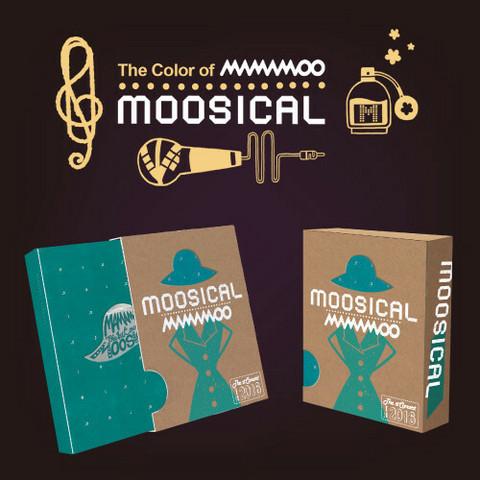 MAMAMOO - 2016 MOOSICAL (PHOTOBOOK & LIVE CD)