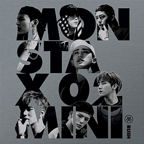 MONSTA X - RUSH (2ND MINI ALBUM) OFFICIAL VERSION