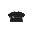 BLACKPINK - H.Y.L.T - CROPPED T-SHIRT MELTING HEART BLACK