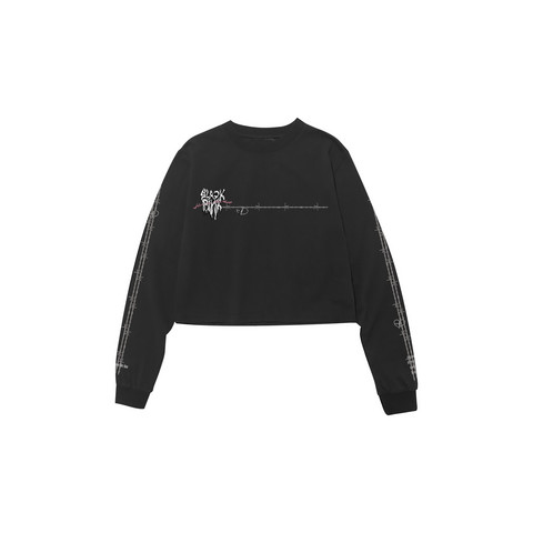 BLACKPINK - H.Y.L.T - LONG SLEEVE T-SHIRTS MELTING HEART BLACK