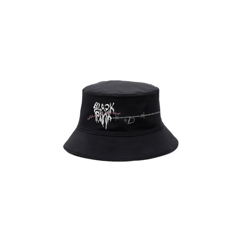 BLACKPINK - H.Y.L.T - BUCKET HAT MELTING HEART BLACK