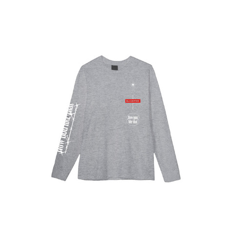 BLACKPINK - H.Y.L.T - LONG SLEEVE T-SHIRTS GRAY
