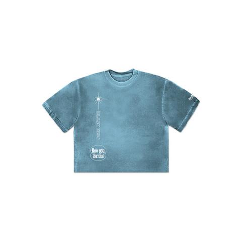 BLACKPINK - H.Y.L.T - CROPPED T-SHIRT BLUE