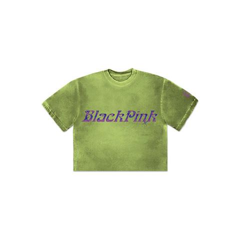BLACKPINK - H.Y.L.T - CROPPED T-SHIRT OLIVE