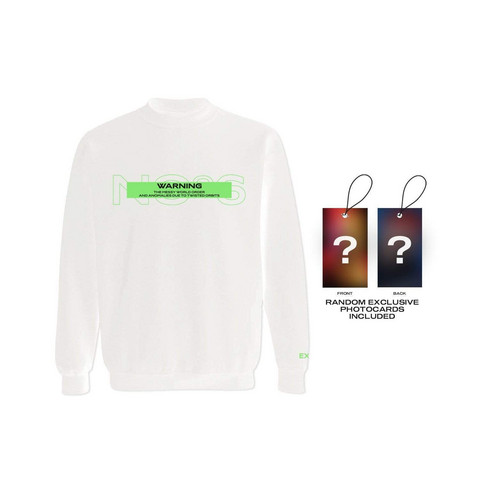 EXO - OBSESSION WARNING SWEATSHIRT W/ PHOTOCARD