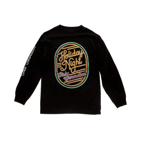 GIRLS' GENERATION HOLIDAY NIGHT LONG SLEEVE - BLACK