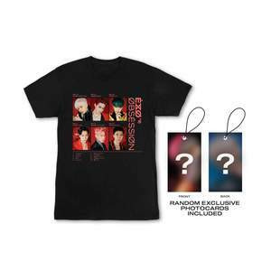 EXO - OBSESSION PHOTO PRINT T-SHIRT W/ PHOTOCARD - X-EXO VER.